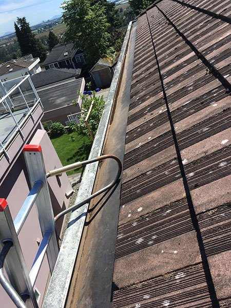 gutter cleaning after 2