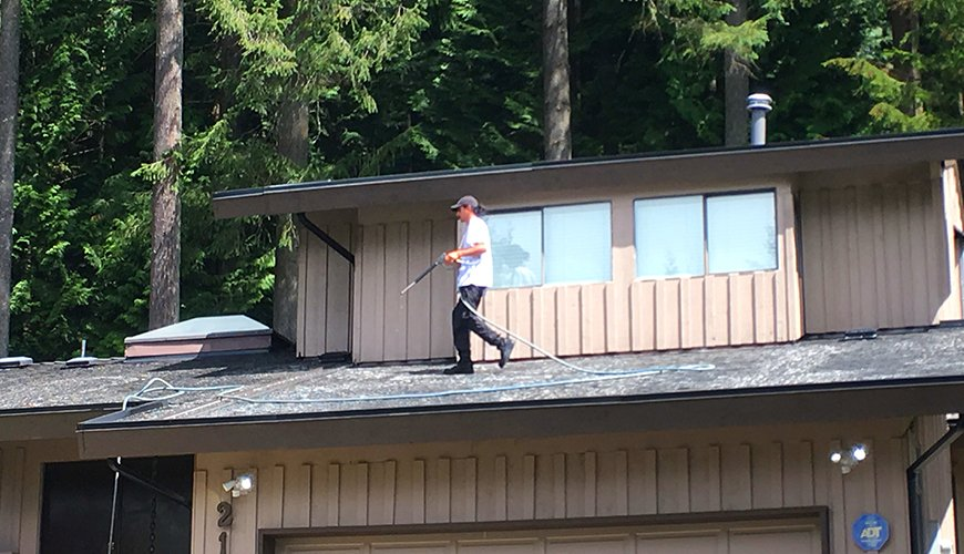 vancouver roof cleaning service