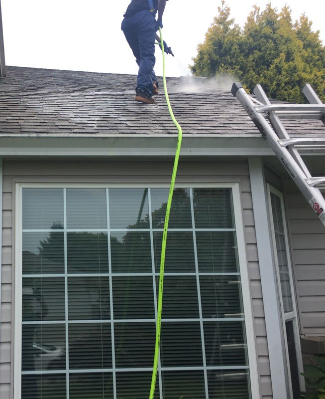 asphalt shingle roof cleaning vancouver