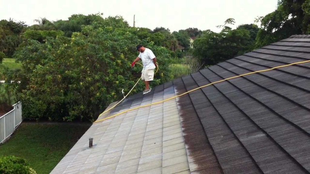 Chemicals Use in Roof Cleaning