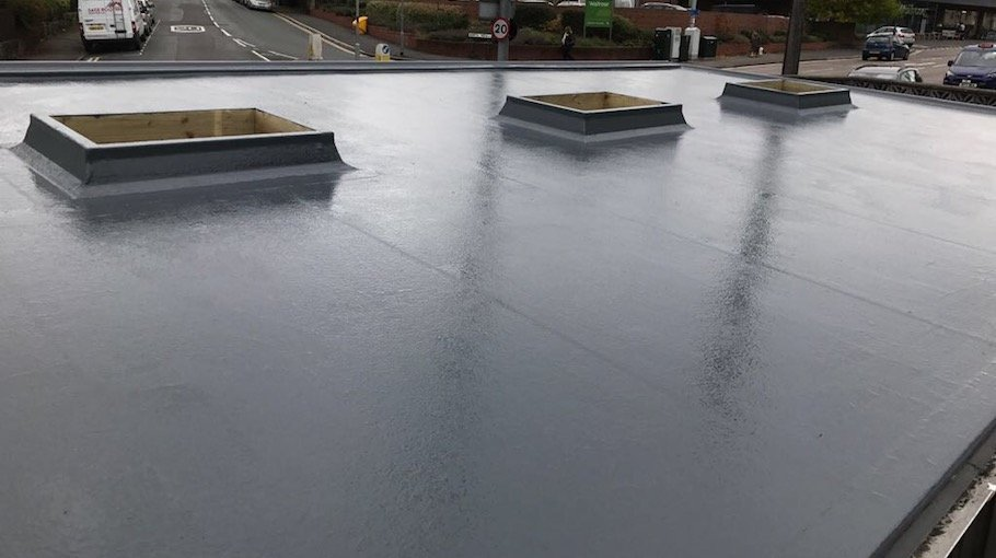 concrete roof cleaning